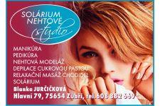 Logo for Solárium, nehtové studio Blanka Jurčíčková
