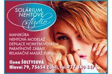 Logo for Solárium, nehtové studio Ilona Šoltýsová