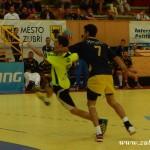 HC Zubří - Maccabiv Tel Aviv 20130102