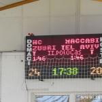 HC Zubří - Maccabiv Tel Aviv 20130104