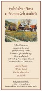 pozvánka výstava RVS