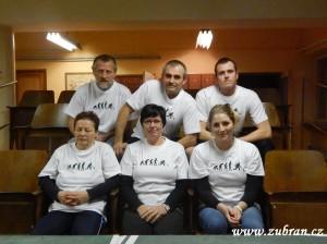 Zahájení kuželkářské ligy v Zubří  2013 0085