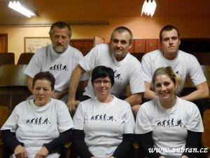 Zahájení kuželkářské ligy v Zubří  2013 0086