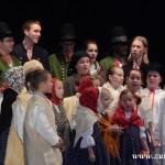 """Vánoční tradice pro ,,Kamarád"""" – Valašský soubor písní a tanců Beskyd – Zubří 2013 00092"""