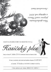 pozvanka na starozuberský hasičský ples 2013