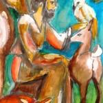 9 Svatý František z Assisi Kresby zuberských dětí