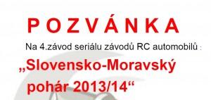 Pozvánka na zavod modelářů leden 2014