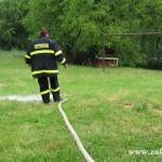 Jednotka sboru dobrovolných hasičů květen 2014Odčerpaná voda ze sklepů