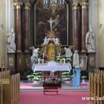 Májová adorace v kostele Všech svatých v Rožnově