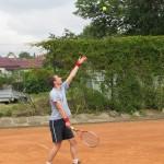 2. tenisový turnaj O POHÁR STAROSTY MĚSTA ZUBŘÍ 2014 dvouhra 0097