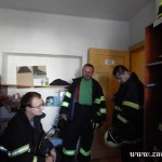 Hasičské cvičení na nové škole v Zubří červenen 2014  0006