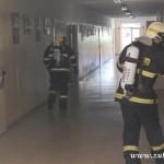 Hasičské cvičení na nové škole v Zubří červenen 2014  0013