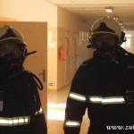 Hasičské cvičení na nové škole v Zubří červenen 2014  0022