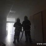Hasičské cvičení na nové škole v Zubří červenen 2014  0024