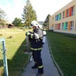 Hasičské cvičení na nové škole v Zubří červenen 2014  0046