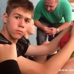 Mladší žáci HC Zubří zvítězili na mezinárodním turnaji v německém Schwerinu 2014   00023