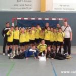 Mladší žáci HC Zubří zvítězili na mezinárodním turnaji v německém Schwerinu 2014   00032