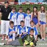 Turnaj miniházené v Zubří týmy  2014 0001