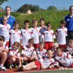 Turnaj miniházené v Zubří týmy  2014 0010