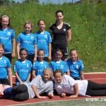 Turnaj miniházené v Zubří týmy  2014 0015