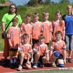 Turnaj miniházené v Zubří týmy  2014 0017