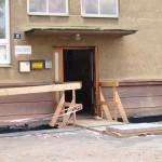Rekonstrukce Klubu Zubří - léto 2014