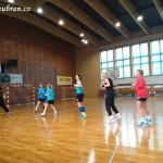 Ženy hazená  Lesany vybojovaly 1. kolo Českého poháru 20140002