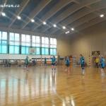 Ženy hazená  Lesany vybojovaly 1. kolo Českého poháru 20140003