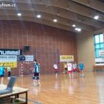 Ženy hazená  Lesany vybojovaly 1. kolo Českého poháru 20140005