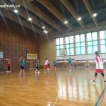 Ženy hazená  Lesany vybojovaly 1. kolo Českého poháru 20140007