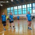 Ženy hazená  Lesany vybojovaly 1. kolo Českého poháru 20140009