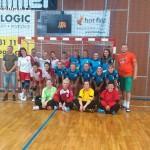 Ženy hazená  Lesany vybojovaly 1. kolo Českého poháru 20140011
