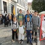 Ministrantská pouť v Kromeříži 2014DSCN8413