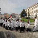 Ministrantská pouť v Kromeříži 2014DSCN8424