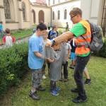 Ministrantská pouť v Kromeříži 2014DSCN8472