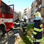 Hasičské cvičení v mateřské škole na sídlišti v Zubří 10.2014 0002