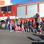 Hasičské cvičení v mateřské škole na sídlišti v Zubří 10.2014 0017
