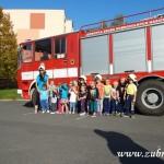 Hasičské cvičení v mateřské škole na sídlišti v Zubří 10.2014 0049