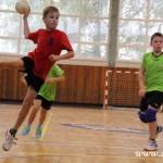 Rožnovský turnaj minižáků v házené 27.9.2014 ovládli malí Zubřani  0030