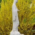 Panna Maria z Medugorje u kaple Svatého Ducha
