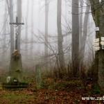 Rozcestí u kříže na Hodorfu