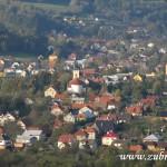 Střed obce Zubří