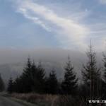 Šedivá mlha nad Kamenárkou