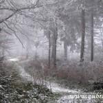 Cesta po hřebenu k Hodorfu