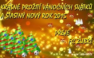 FC Zubří Vánoce 2014