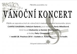 Vanoční koncert