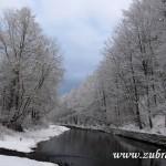 Přítok Starozuberského potoka do Bečvy