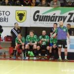 Zubří vs Dukla Praha Házená 2014 2015  0051