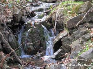 Horský potok v Kotelnici