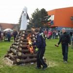 Palení čarodějnic 2015 hasiči Zubří  0181